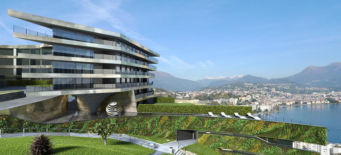 Nizza Paradise Residence tra arte e architettura da progetto a realizzazione con vista