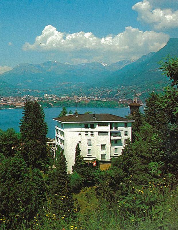 Hotel Nizza Lugano immerso nel bosco