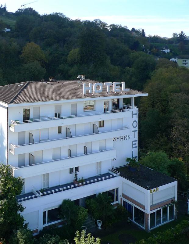 Hotel Nizza Lugano vista frontale