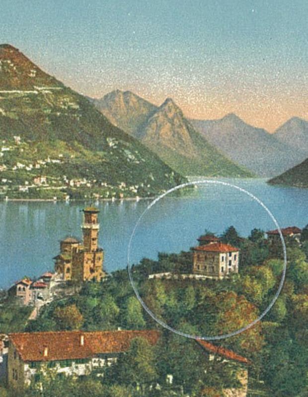 Posizione hotel Nizza Lugano