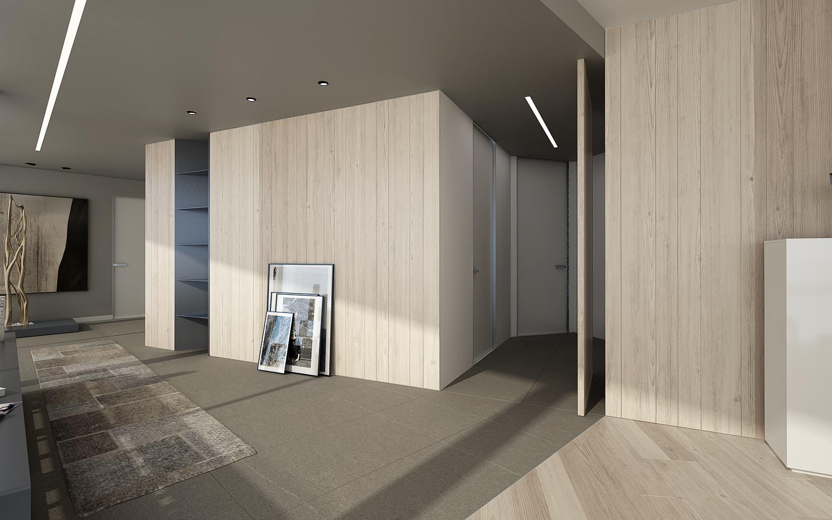 Forme attico stile moderno Lugano Svizzera Ticino