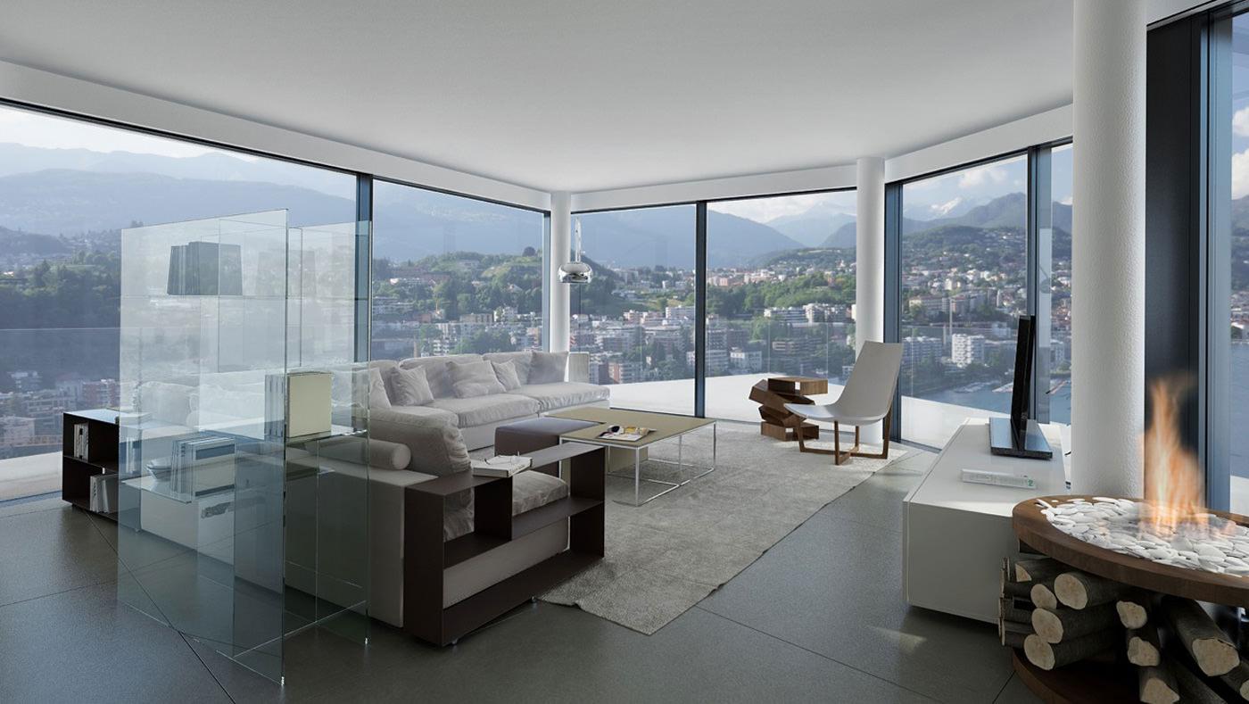 case di lusso interni 1