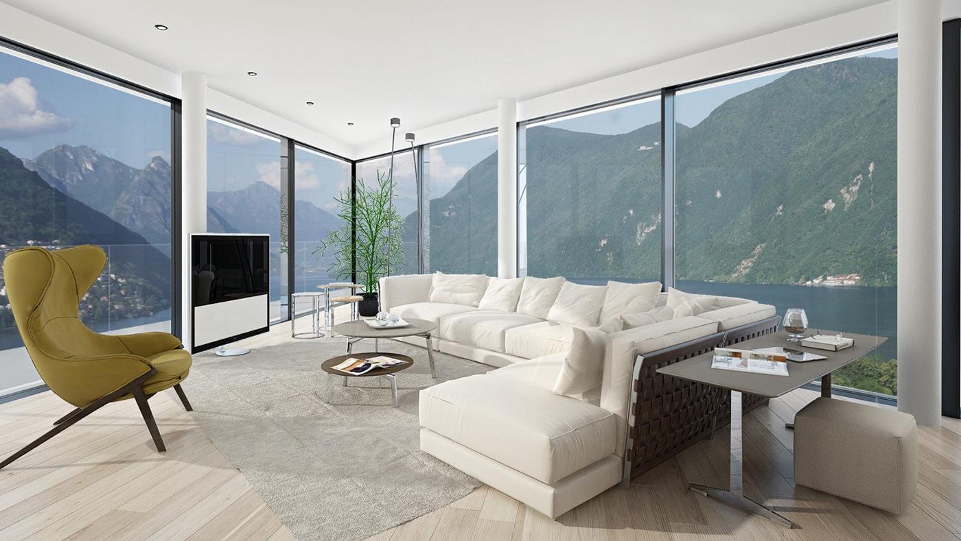 case lussuose in vendita interni