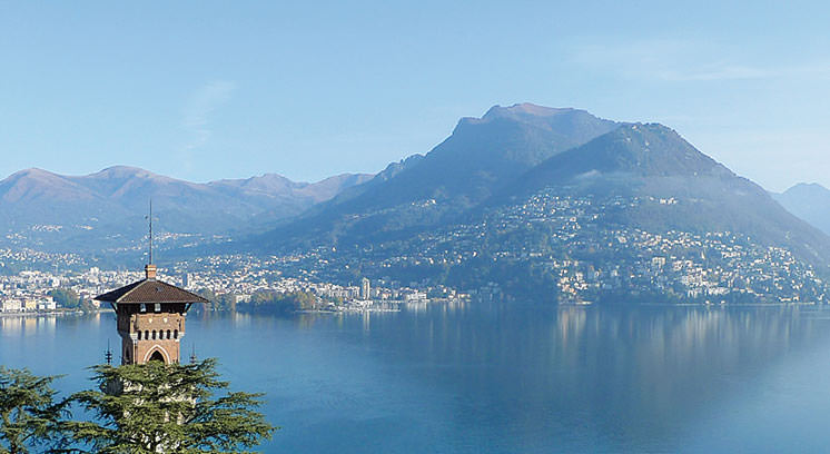 paesaggio alta qualità di vita a Lugano