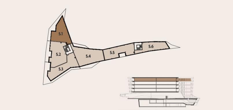 Pianta attico di design Lugano Ticino Svizzera residenza di lusso