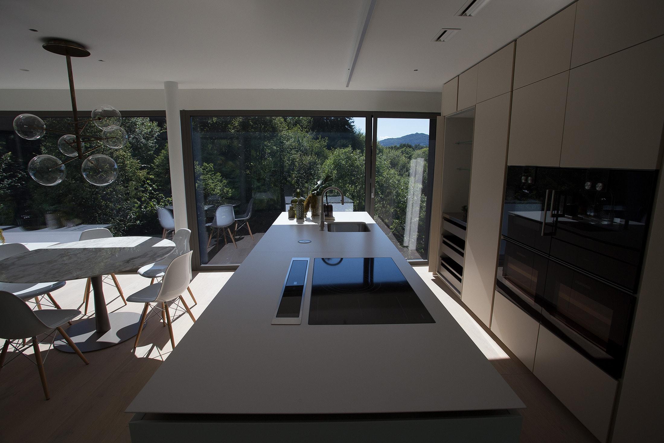 attico vista cucina piano 5