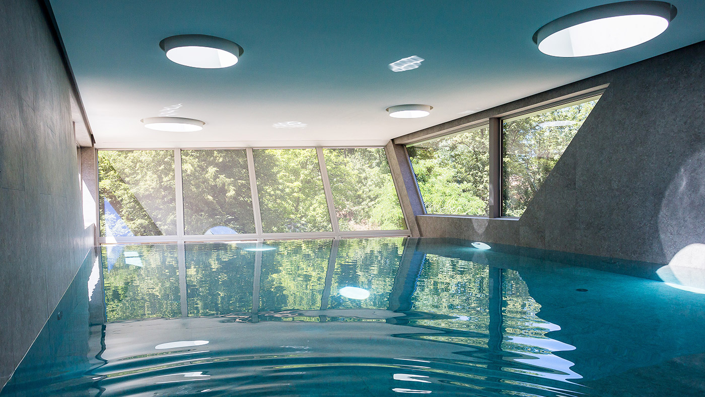 Appartamenti con piscina Lugano Ticino Svizzera Giorno