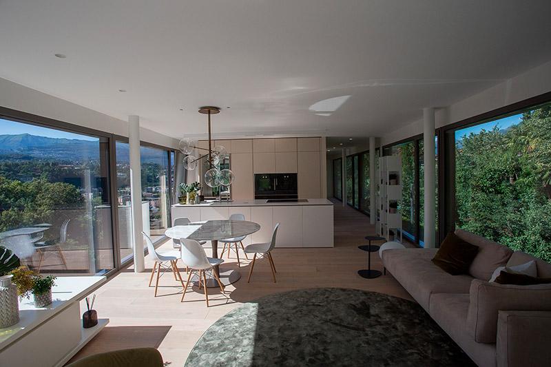 appartamenti moderni mozzafiato e di design a lugano