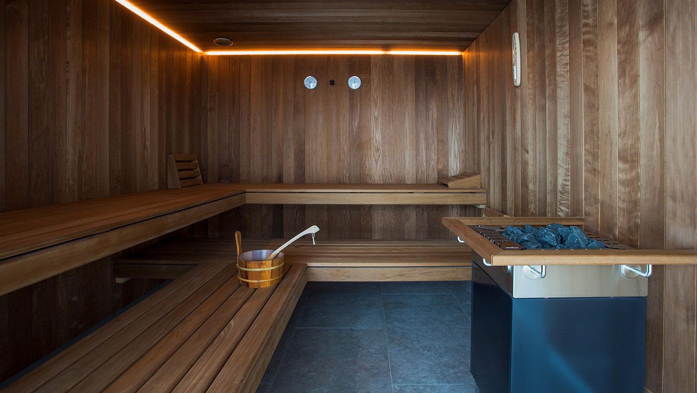 Luxusimmobilie mit Spa Lugano Tessin Schweiz Sauna