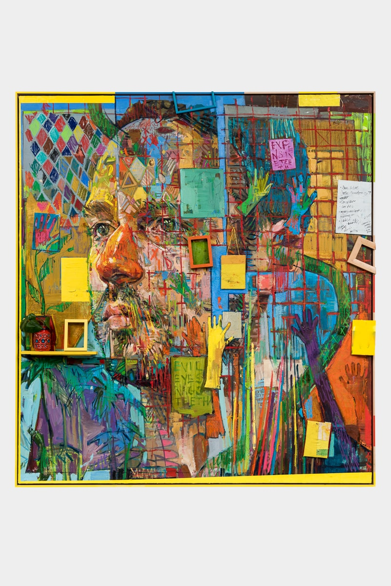 Andrew Salgado portrait Soft Cage