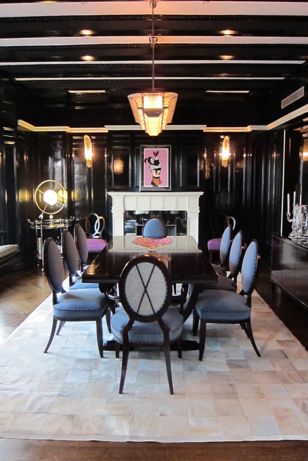 kari whitman elegant room dark colors
