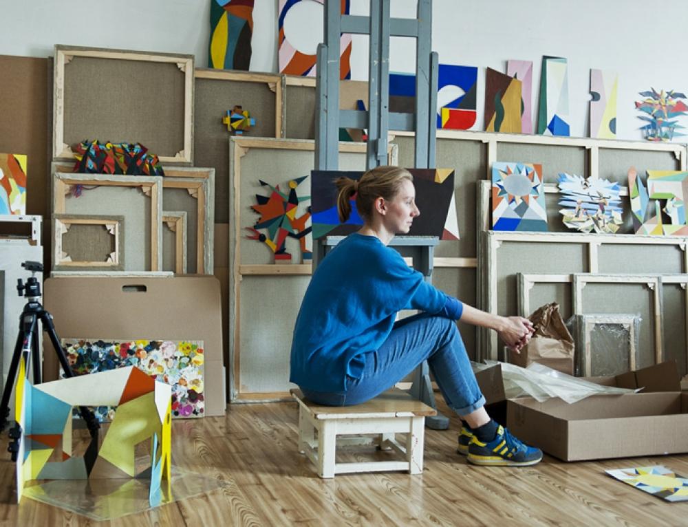 "Kinga Nowak, tra architettura e pittura: ""Vi racconto le mie ispirazioni"""