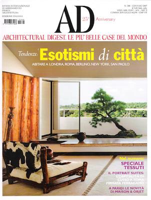 rivista casa architectural digest