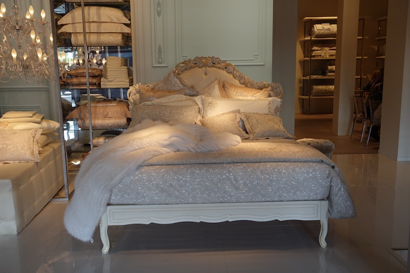 luxurious bedding