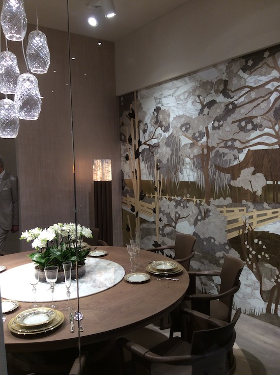 luxury home furnishings: elegant dining room