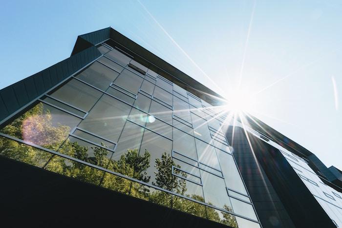 casa irraggiamento solare