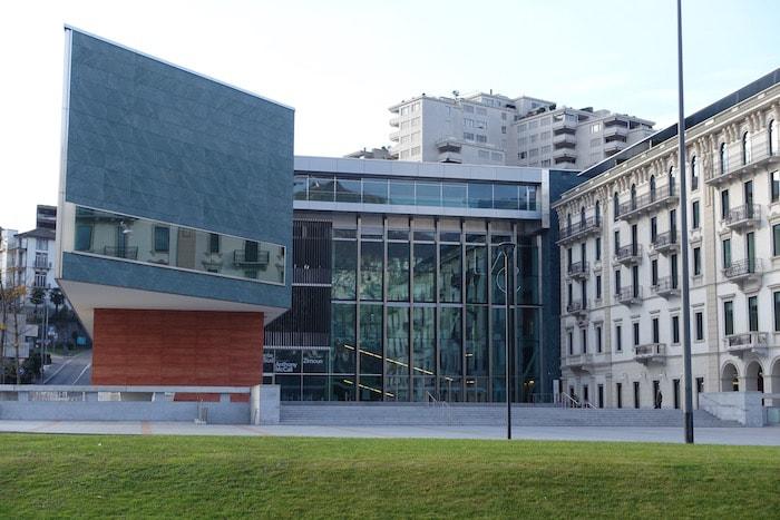 LAC museo facciata
