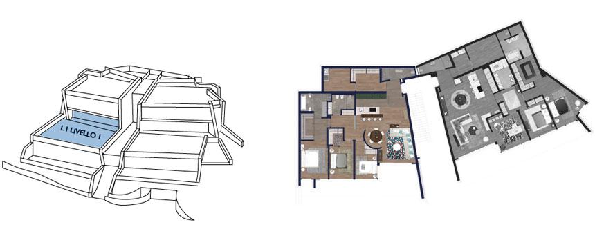 piantina appartamento 1.1