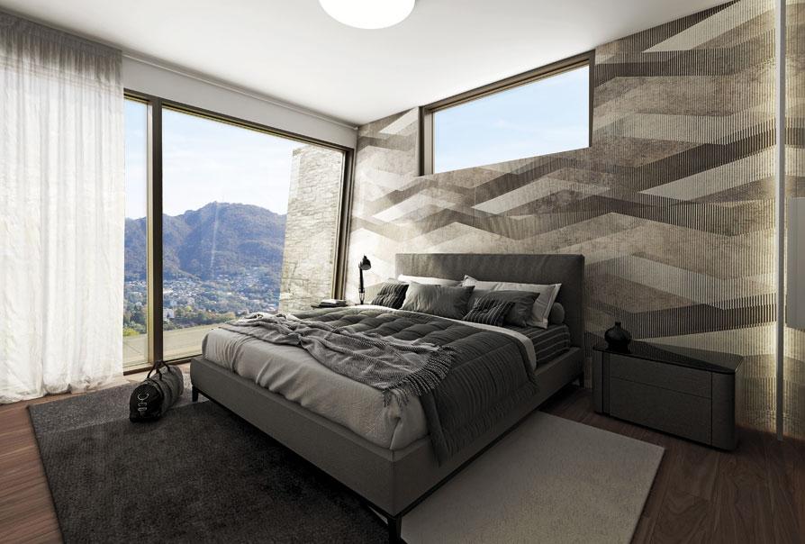 camera da letto raffinata