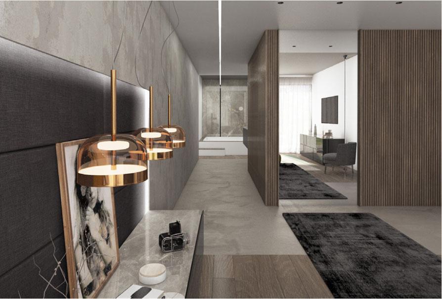 appartamento elegante esempio stanza