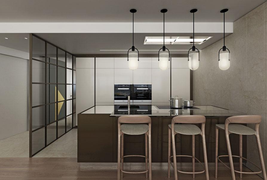 cucina design 2018: libellula residence attico