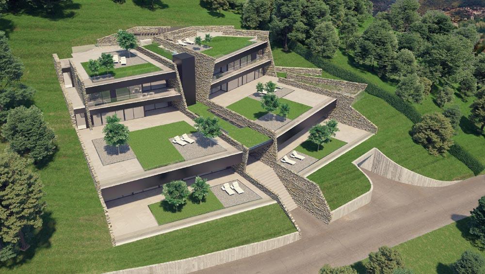 Appartamenti ecosostenibili Muzzano Lugano