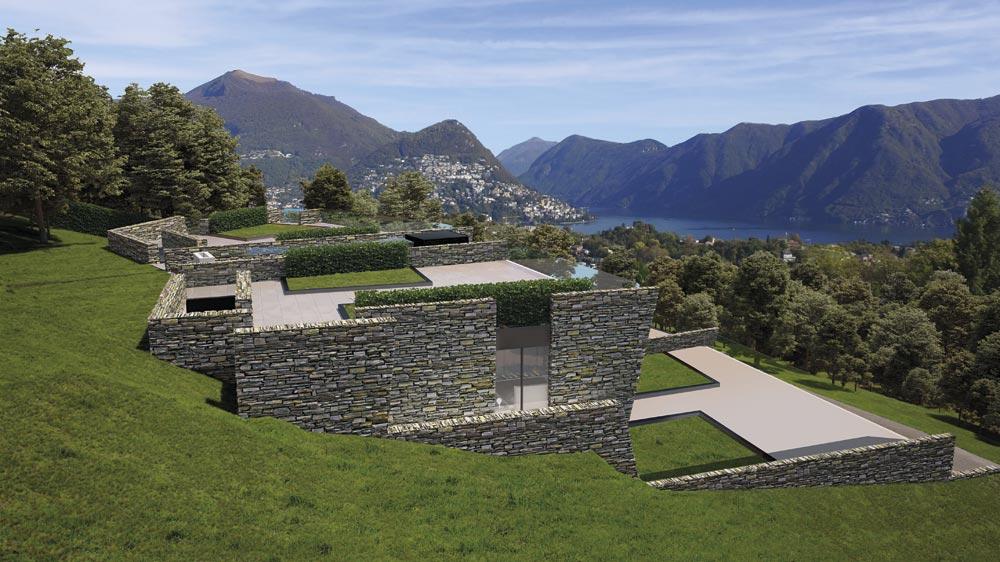 Appartamenti vista lago Muzzano Lugano