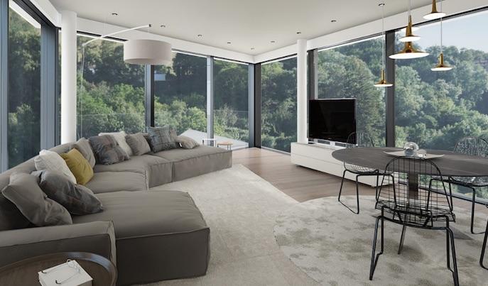 appartamenti moderni lusso