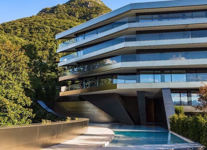 nizza paradise residence vetrate